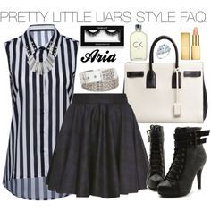 """""""Pretty Little Liars Aria Montgomery #16"""" by engelsvictoria on Polyvore"""