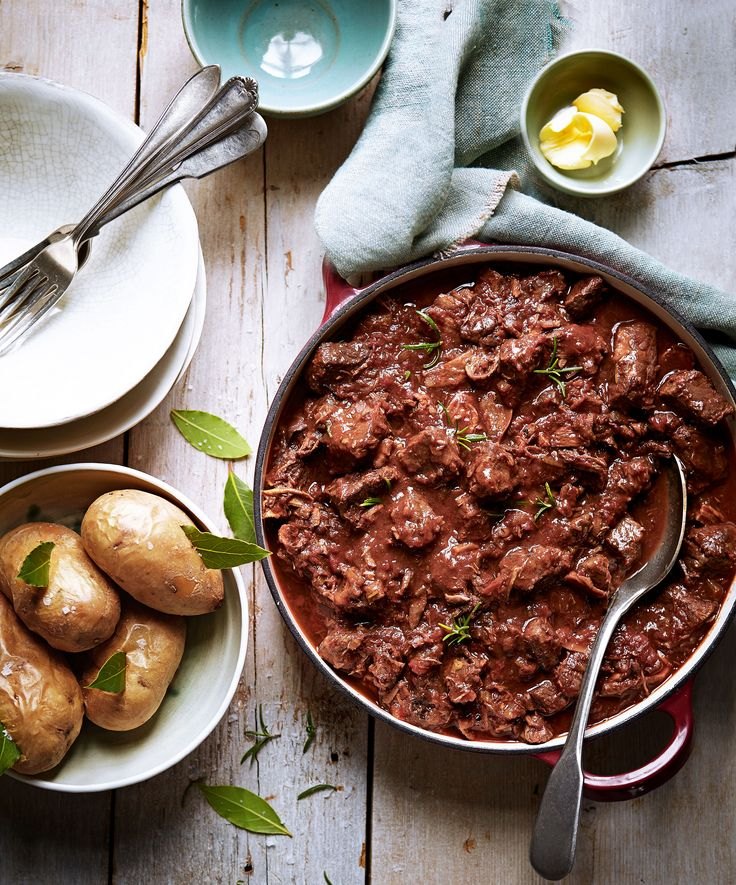 On a cold winter's day, there's nothing quite like a rich, comforting bowl of stew. This recipe comes from chef Theo Randall and is best served with a side of fluffy, buttery potatoes.