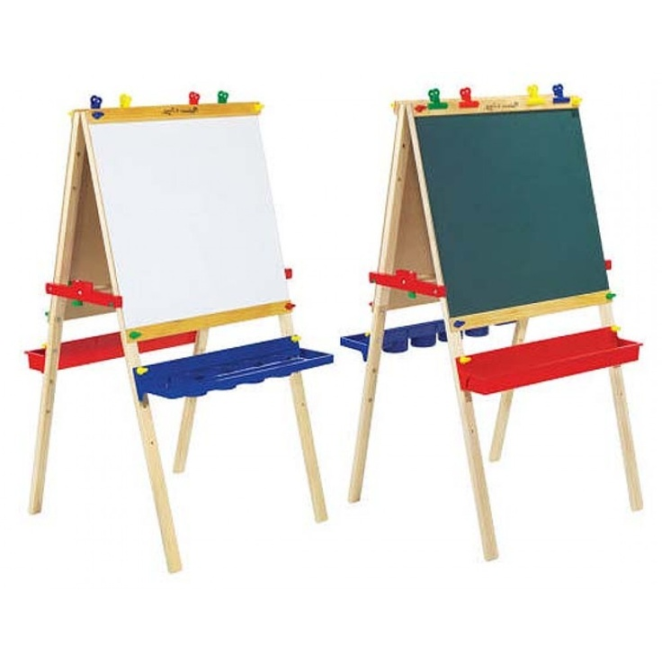 Melissa Doug Deluxe Large Standing Art Paint Easel