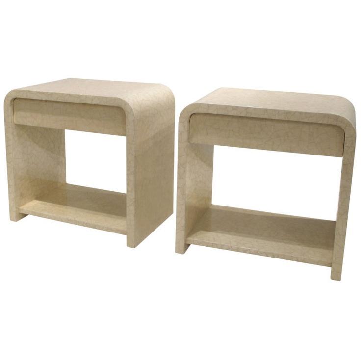 Karl Springer Bedside Tables