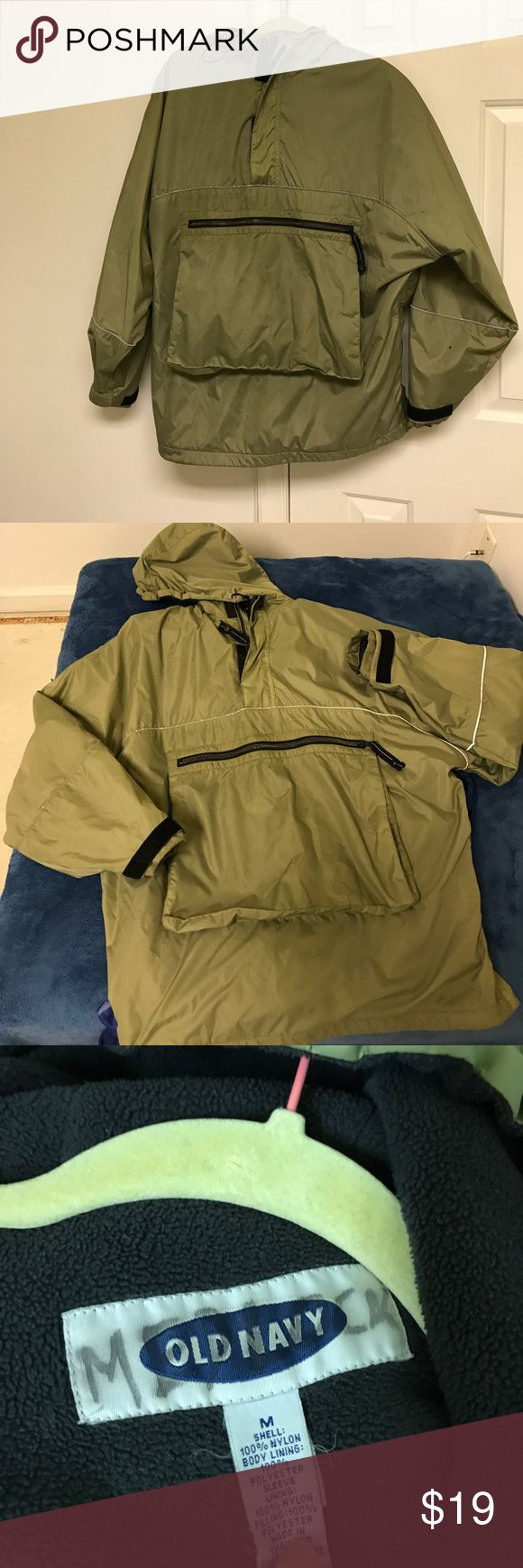 Old Navy Men's or tall youth jackets M Insulated, gently used  size M . Measures 52 inches under the arm and 30 inches long. old Nsvy Jackets & Coats Bomber & Varsity