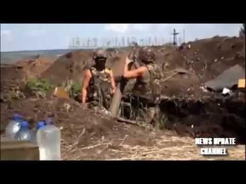 Ukraine War - Ukraine War 2014 Military Bombing Sloviansk   July 2014