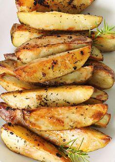 healthy potatoes (I would use granulated garlic instead of garlic salt, especially since sea salt is included already)