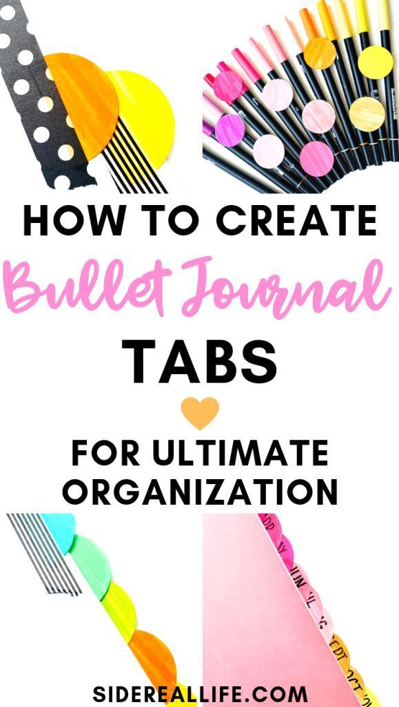 Using Tabs In Your Bullet Journal Is A Great Way To Organize Your Planner Find Out How Planner Bullet Journal Bullet Journal Hacks Bullet Journal Inspiration