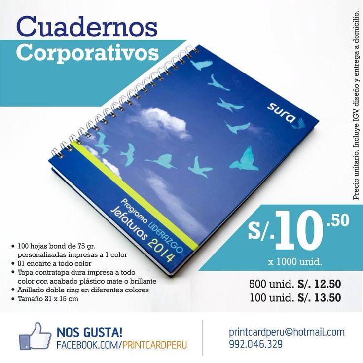 Diseño e impresión de cuadernos corporativos