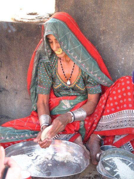 From Veg Voyages Vegan Adventure Tours India Photos Making Chapatis in an outdoor kitchen