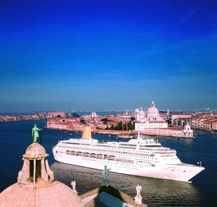 P&O Oriana in Venice