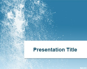 71 best presents images on pinterest ppt template role models and splash water powerpoint template is a free ppt background template that you can download to make toneelgroepblik Images