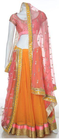 anita dongre's http://anitadongre.com/ wow lehenga / ghagra - choli ensemble