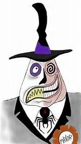 ... Mayor of Halloweentown from Tim Burton's Nightmare Before Christmas