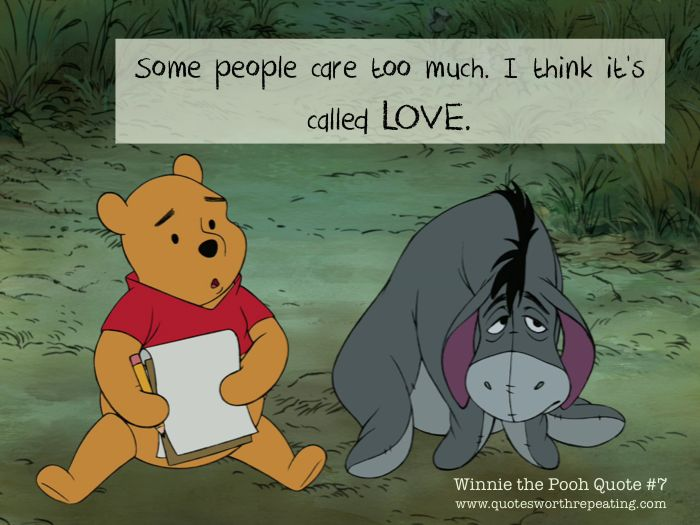 Saying I Love You Too Much Quote