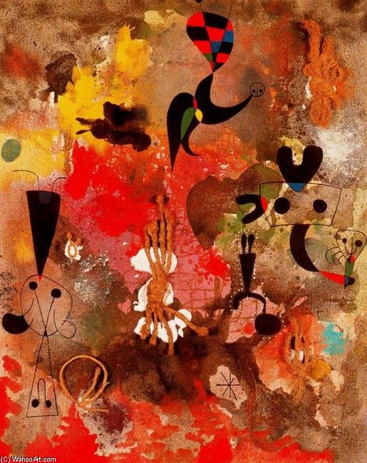 Joan Miro---would love any of their artwork in a baby's room.