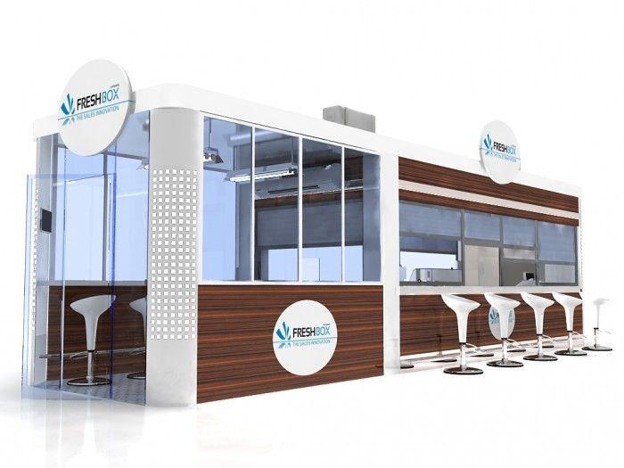 Food kiosk relax 10 kiosk food outdoor kiosk indoor kiosk for Indoor food kiosk design