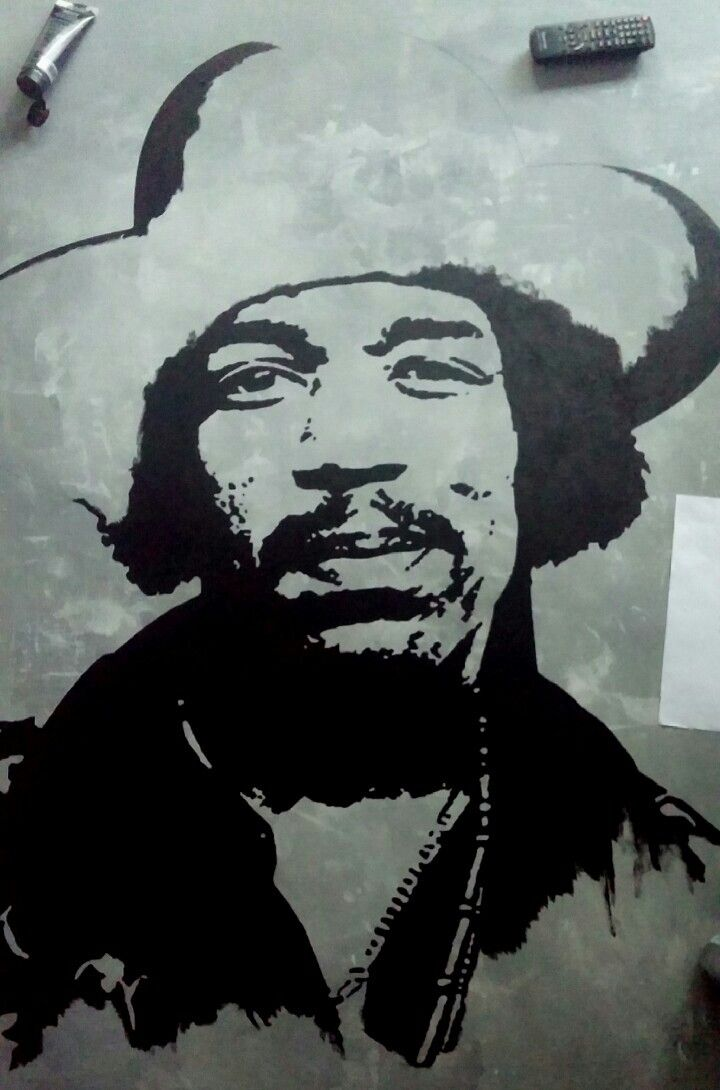 Jimi Hendrix work in progress😉