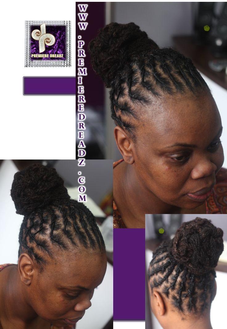 Dreadlock Styles for women / premiere dreadz /