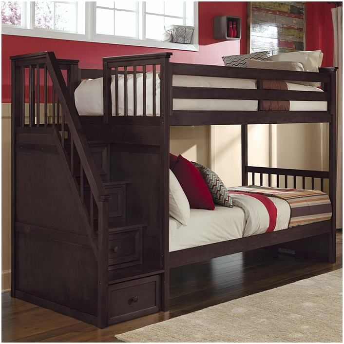 Aarons Furniture Bedroom Sets Bunk Beds With Stairs Staircase Bunk Bed Bunk Bed Designs