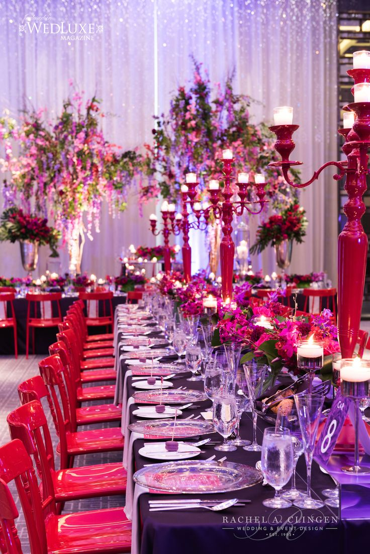 wedding at four seasons hotel toronto - Violet Hotel Decor