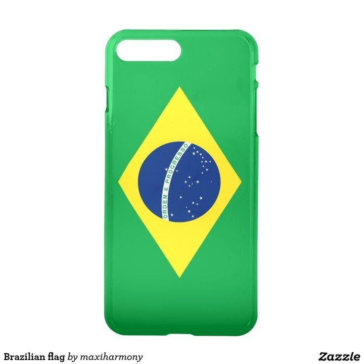 Brazilian flag iPhone 7 plus case