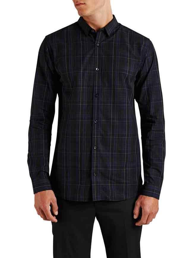 Herenmode, Jack & jones slim fit overhemd in klassieke en strakke stijl  MEER  http://www.pops-fashion.com/?p=31257