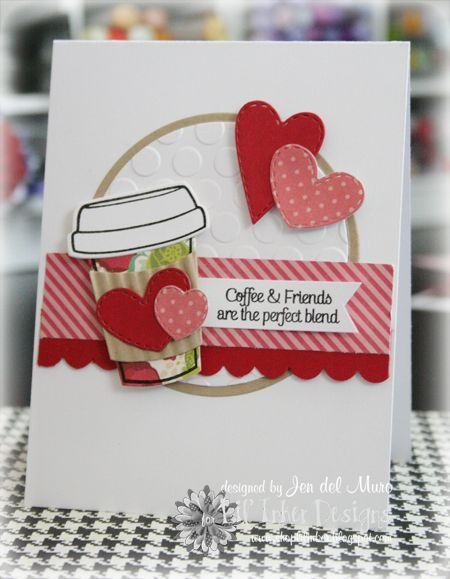 Awesome design from Jen del Muro for Lil' Inker Designs using June's Sketch For You To Try