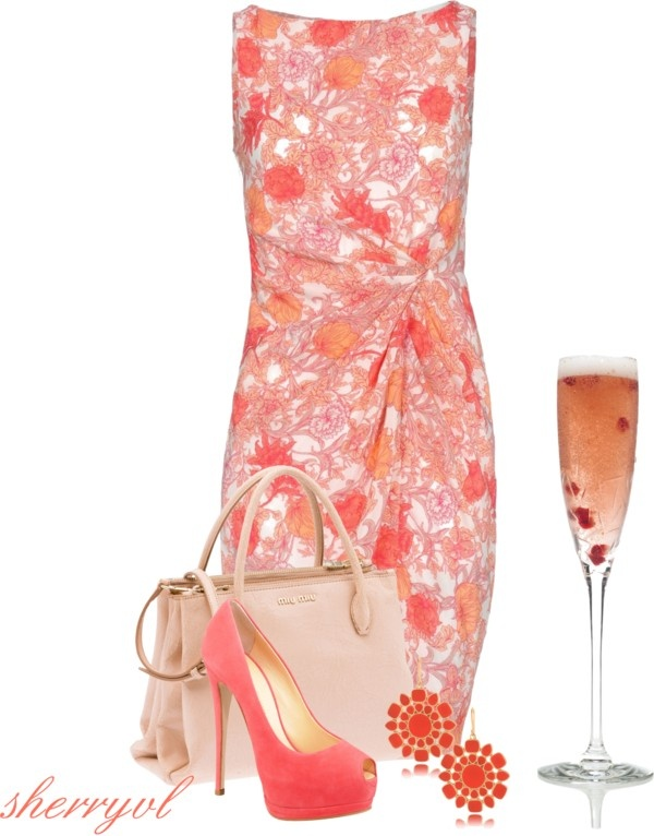 """Red White Or Blush"" by sherryvl on Polyvore"