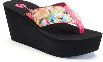 Unleashed by Rocket Dog Dandelion Women's Platform Wedge Flip Flops - $19.99