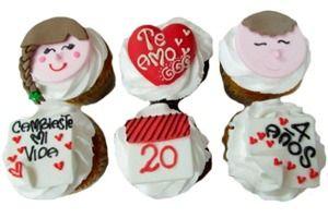 CupCakes para celebrar tus fechas especiales, en medellín y bogotá. JuanRegala.com