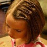 Плетение на короткие волосы (38 фото): видео-инструкция как заплетать своими руками, прически, фото и цена