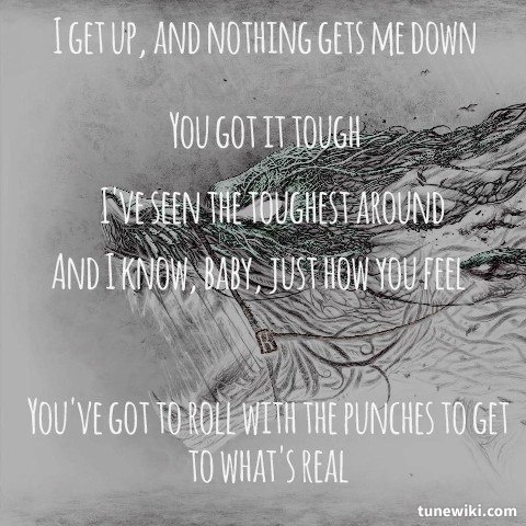"-- #LyricArt for ""Jump"" by Van Halen"
