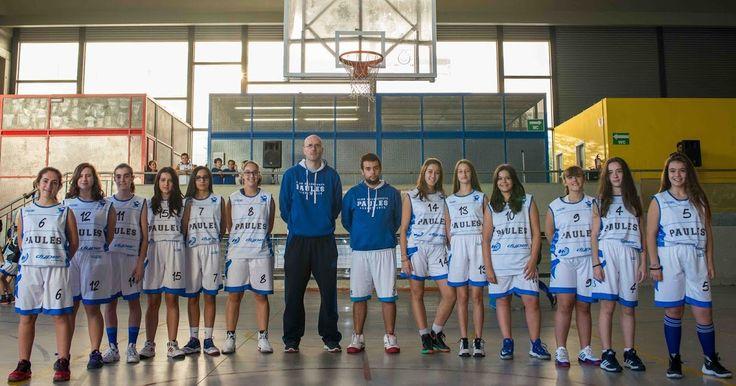 Baloncesto | El cadete femenino del Paúles disputa la Liga Vasca tras renunciar el Gernika