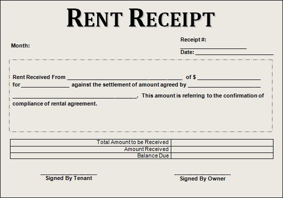 Free 21 Rent Receipt Templates In Google Docs Google Sheets Excel Ms Word Numbers Pages Receipt Template Rent Receipt