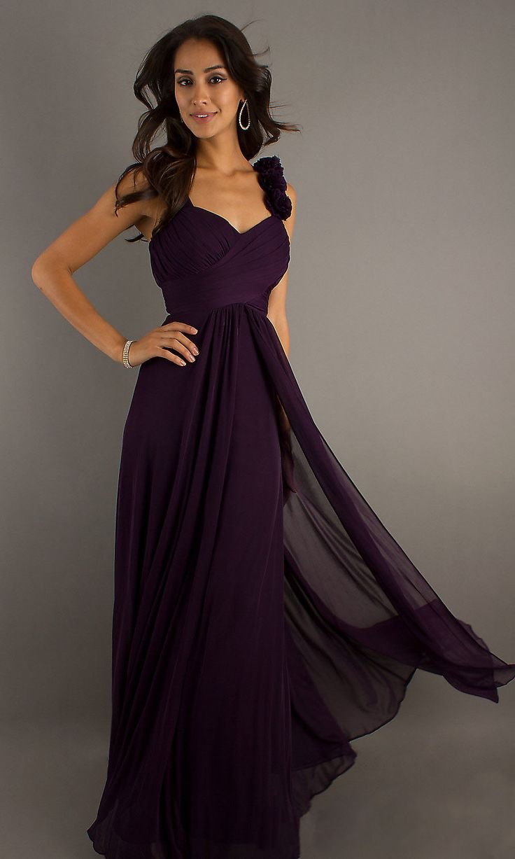 17 Best Ideas About Dark Purple Dresses On Pinterest