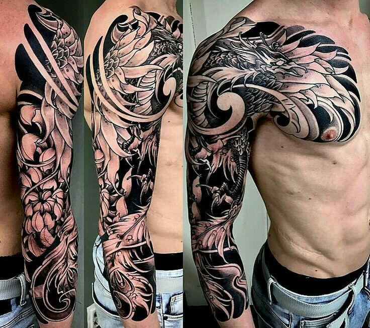 43+ Tatouage phoenix homme bras ideas