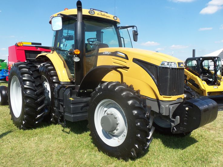 Front Duals For Tractors : Challenger mt d row crop tractor with front fenders