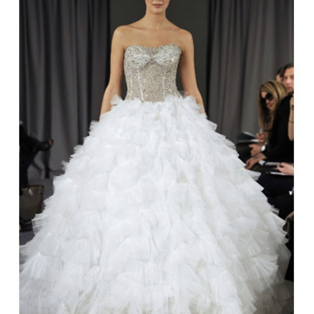 Stunning! Ball gown by Ines Di Santo. 212 872 8957Santo Bridal, Fashion, Inspiration, Ball Gowns, Dresses, Ines Di, Bridal Gowns, Spring 2012, The Saint