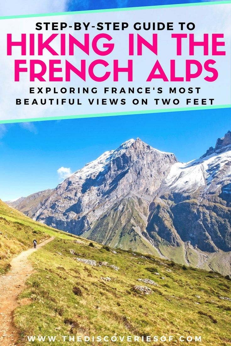 The French Alps are beautiful and the perfect hiking destination for beginners and pros. Here's our guide to hiking in France - full of tips, trails and essentials to help you have an awesome trip. Read now #travel #adventure