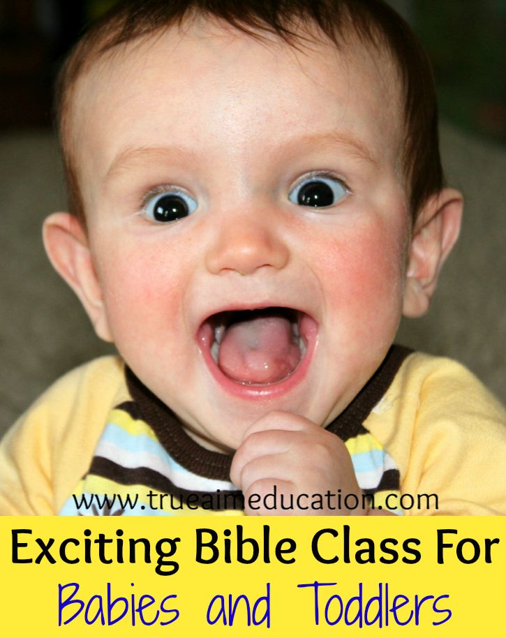 Baby Church, Teaching Babies the Bible | True Aim - Christian Parenting and Education