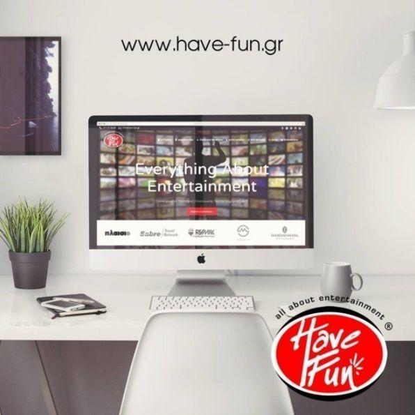 havefungroup Ενημερωθείτε από την ιστοσελίδα μας για όλη την γκάμα υπηρεσιών μας  http://have-fun.gr/