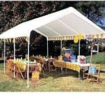 Caravan Canopy 10 X 20-Feet Domain Carport White The Domain 10x20 Carport by & Best 25+ 10x20 carport ideas on Pinterest | Sims 3 houses plans ...