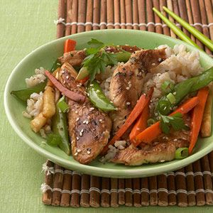 Healthy sesame chicken recipe chinese