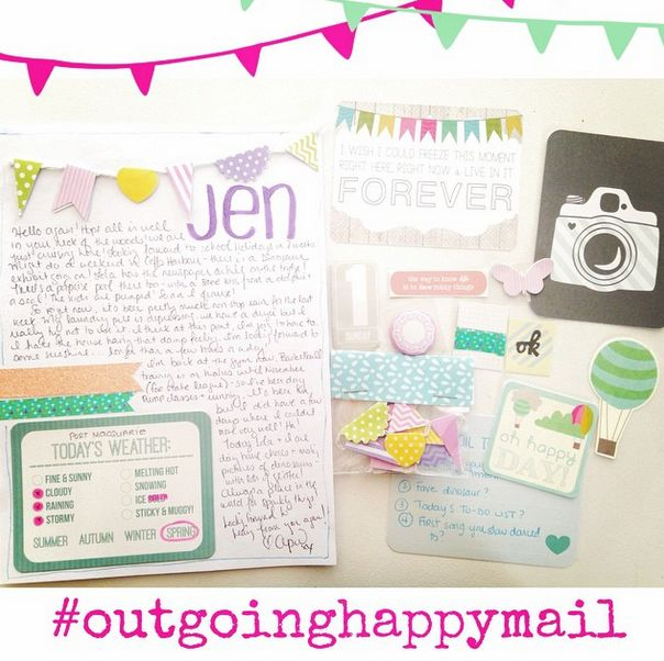 Sweet Snail Mail made by www.instagram.com/aprilstyles Find more ideas and penpals on www.snailmail-ideas.com or go to the webshop www.snailmailideas.etsy.com