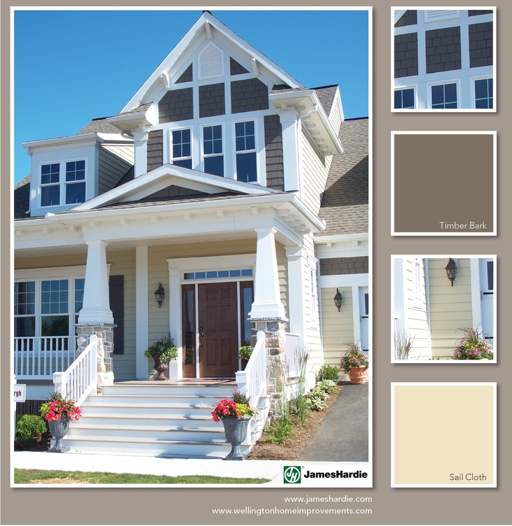 13 best outdoor window trim images on pinterest outdoor - Best exterior paint for hardiplank siding ...