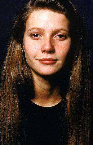 Gwyneth in 1990 aged 17