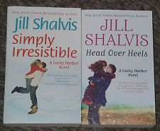 LOT OF 2 JILL SHALVIS BRAND NEW ROMANCE BOOKS SIGNED BY AUTHOR