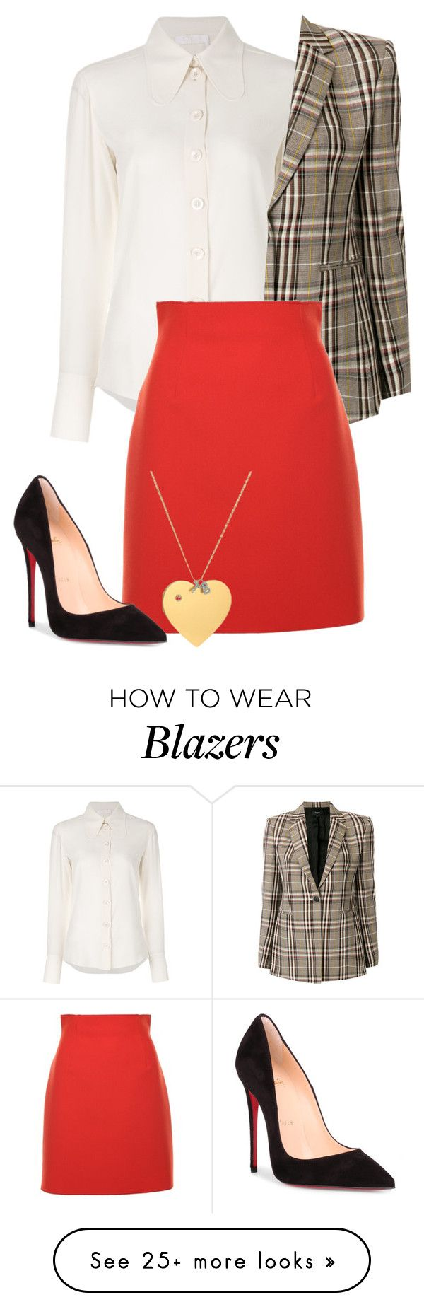 """""""heather chandler"""" by eemotions on Polyvore featuring Chloé, Theory, MSGM, Christian Louboutin and Tory Burch"""