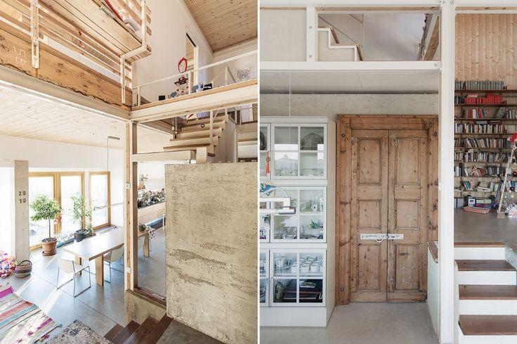 Rispetto della storia del luogo, autocostruzione e sostenibilità sono i principi che hanno guidato Paolo Carlesso nella progettazione di questa casa in provincia di Varese.