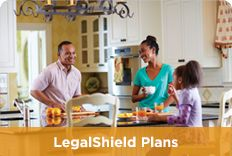 Legalshield Plans available. Worry less and Live more