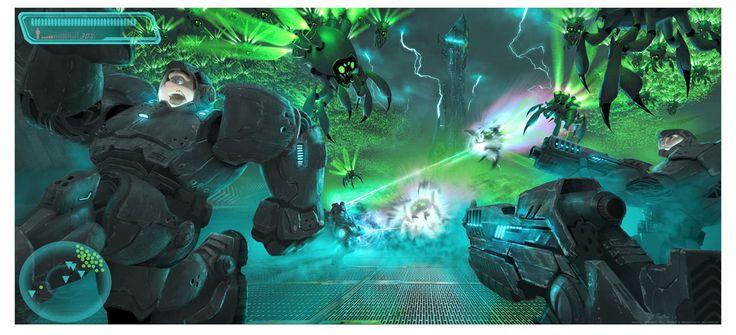 Hero's Duty - by Ryan Langgiclee on paper