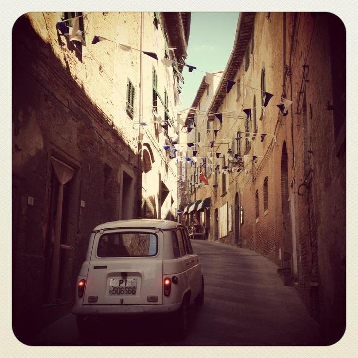 Peccioli ©Blunotte2012  http://www.valderatuscany.com/peccioli/ #valdera #tuscany #pisa