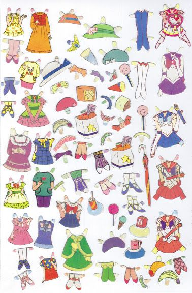 My Sailor Moon paper dolls - scanny3 - Picasa Webalbum *1500 free paper dolls at artist Arielle Gabriel's The International Paper Doll Society also free Asian paper dolls at The China Adventures of Arielle Gabriel *